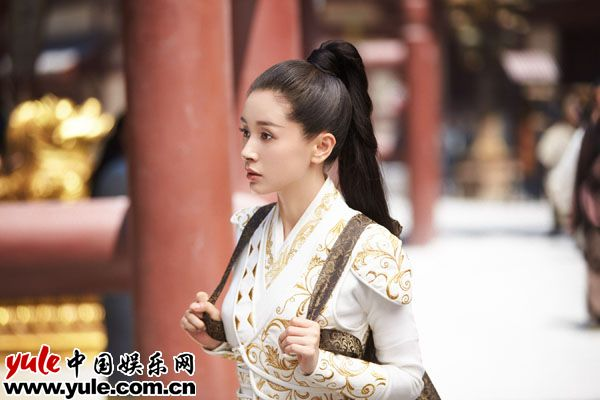 王子文太古神王火热探班首演侠女称我很能打